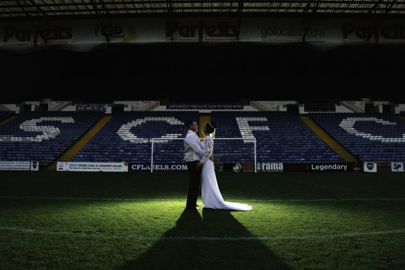 Edgeley Park wedding Photography Manchester Cheshire